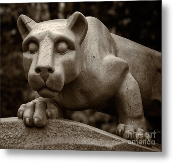 The Nittany Lion Shrine Metal Print