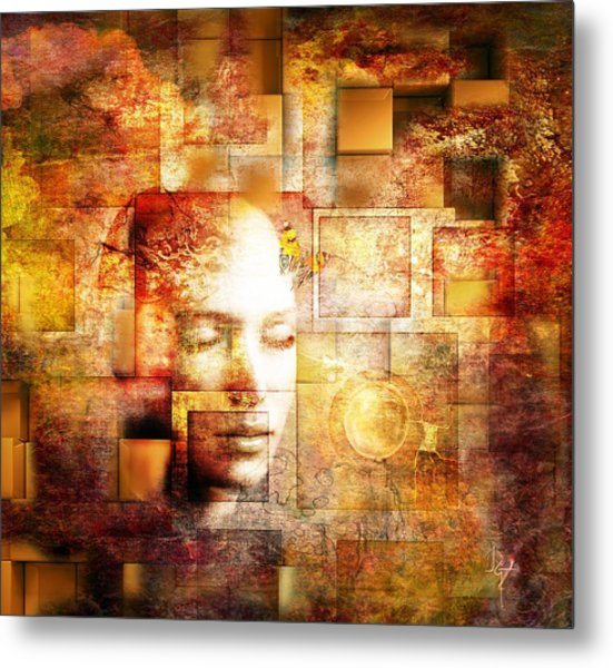 The Noise Within Metal Print
