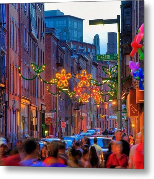The North End's Final Feast Of The Metal Print