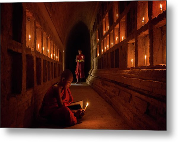 The Novices Metal Print by Amnon Eichelberg