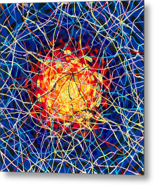 The Nucleus Metal Print by Patrick OLeary