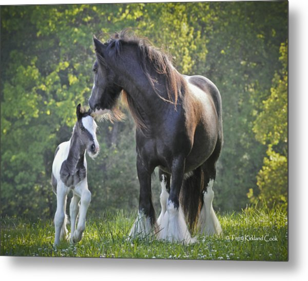 The Nurturing Mother Metal Print