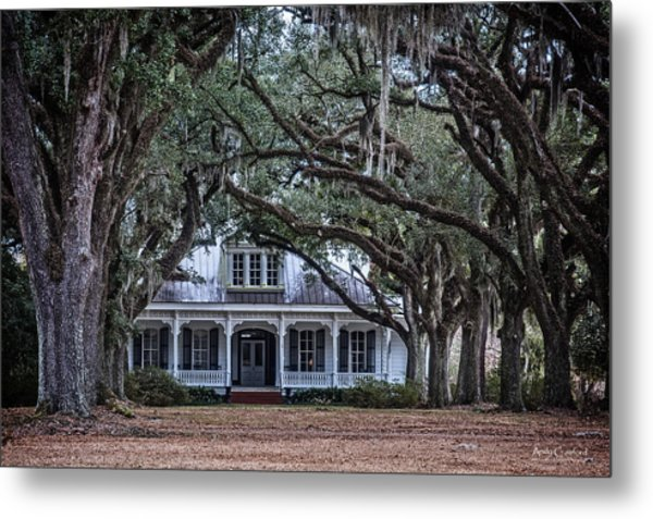 The Oaks Plantation Metal Print