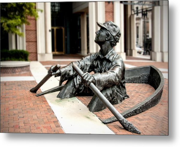 The Oarsman Metal Print