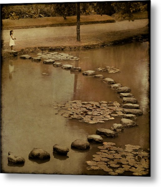 The Obstacle Is The Path Metal Print