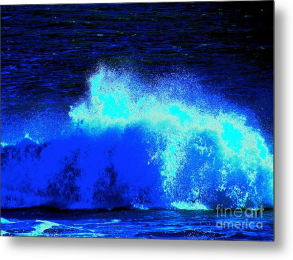 The Ocean Knows Metal Print by Q's House of Art ArtandFinePhotography