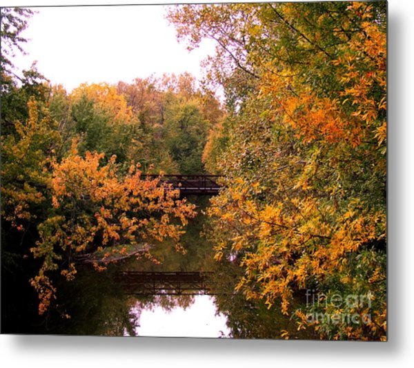 The Old Bridge Metal Print