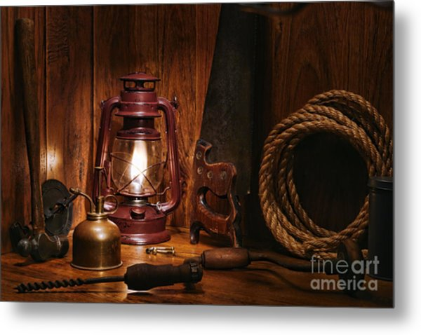 The Old Carpentry Workshop Metal Print
