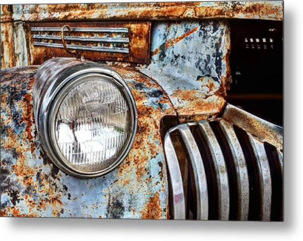 The Old Chevy  Metal Print by JC Findley
