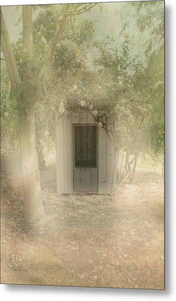 The Old Chook Shed Metal Print