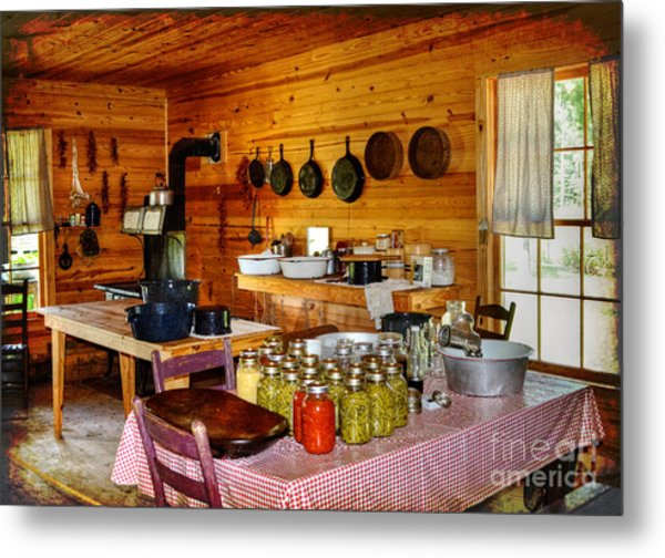 Old Country Kitchen: The Old Country Kitchen Photograph By Kathy Baccari