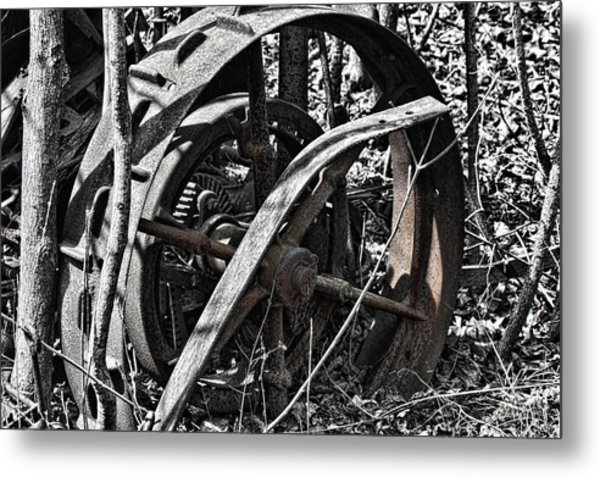 The Old Days Metal Print