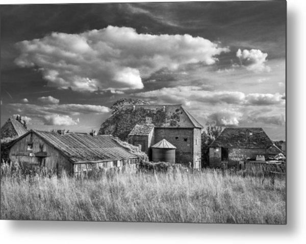 The Old Farm Buildings. Metal Print