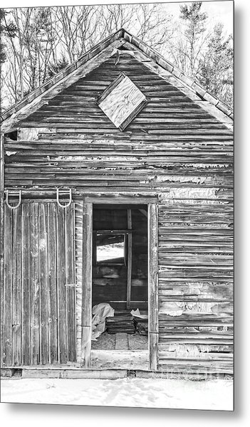 The Old Farm Shed Metal Print