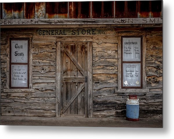 The Old General Store Metal Print