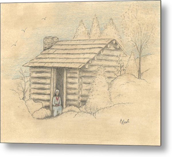 The Old Homeplace Metal Print