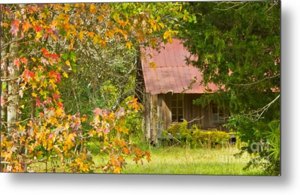 The Old Homestead 3 Metal Print