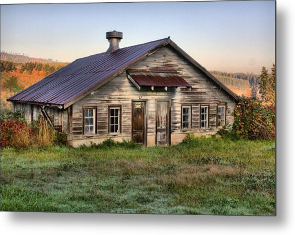 The Old Homestead Metal Print by Melody Madsen