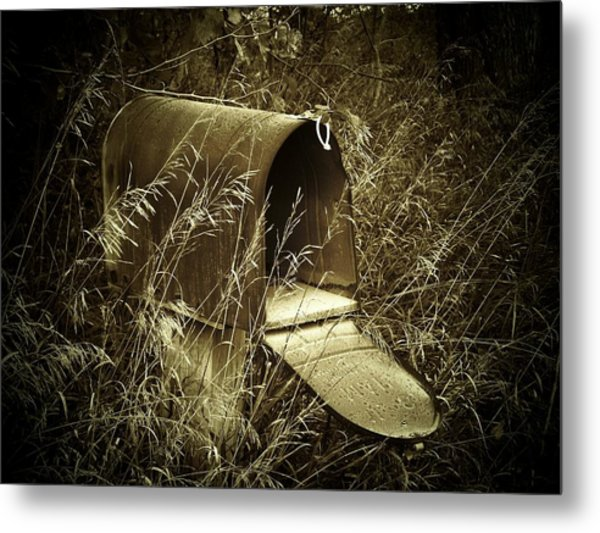 The Old Mailbox Metal Print