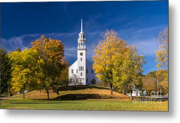 The Old Meeting House. Metal Print