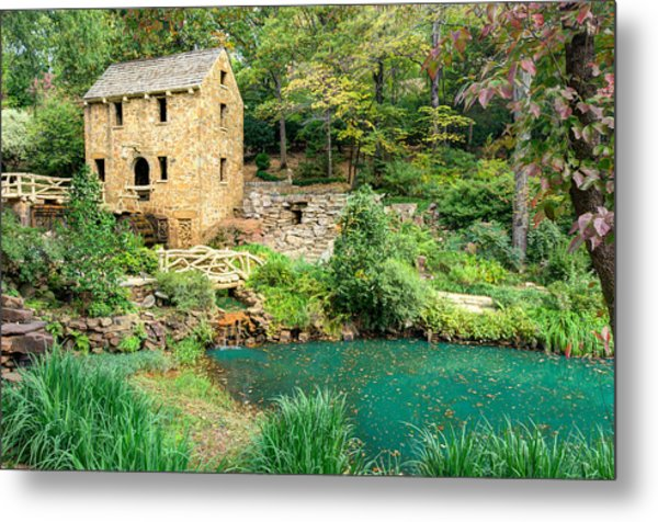 The Old Mill - North Little Rock - Pugh's Mill 1832 Metal Print