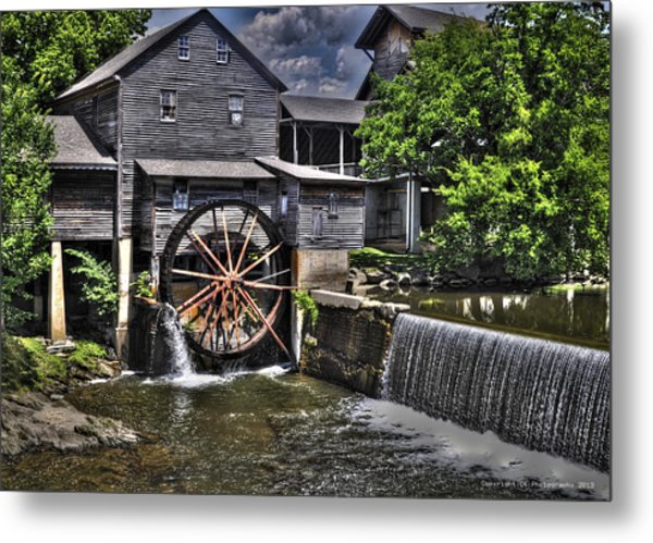 The Old Mill Restaurant Metal Print