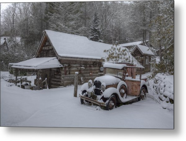 The Old Mill Store Metal Print by Stephen Gray