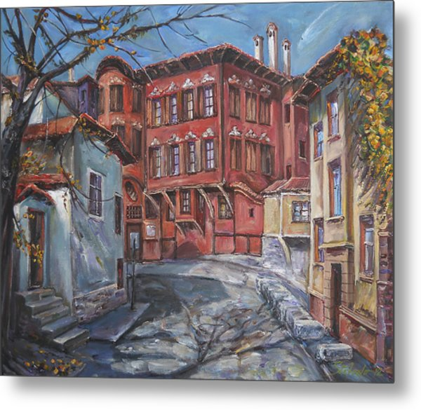 The Old Plovdiv - Autumn Sun Metal Print