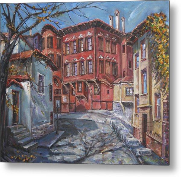 The Old Plovdiv - Autumn Sun Metal Print