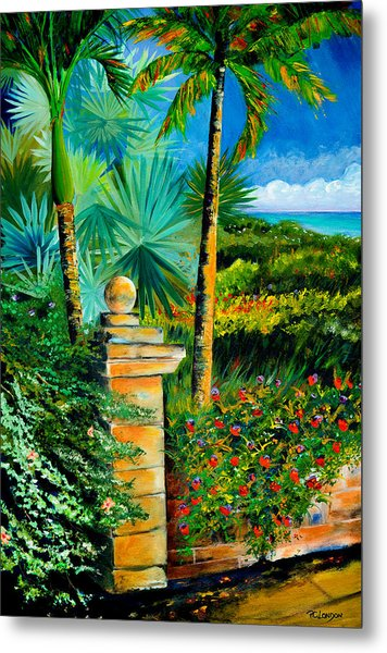 The Old Post In Key West Metal Print