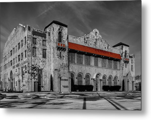 The Old Public Market Metal Print