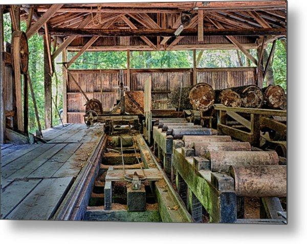 The Old Sawmill Metal Print