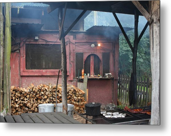 The Old Smoke Shack Metal Print