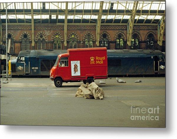 The Old St. Pancras Station Metal Print by David Davies
