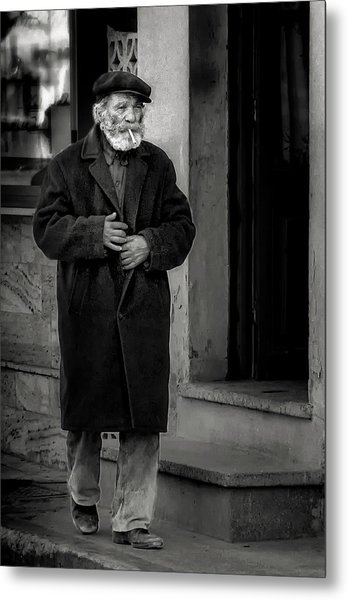 The Old Timer Metal Print