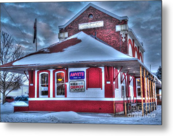 The Old Train Station Metal Print