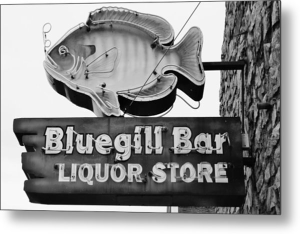 The Old Watering Hole Metal Print