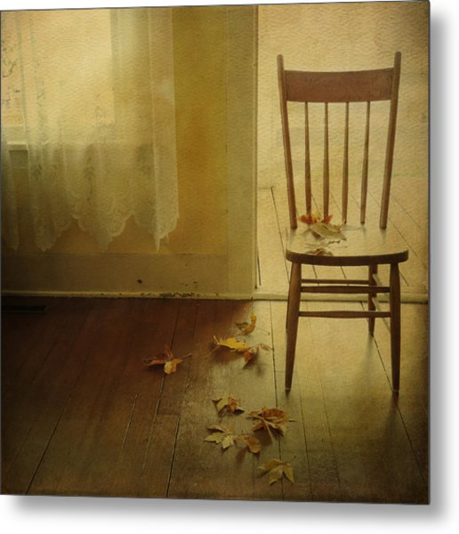 Metal Print featuring the photograph The Open Door by Sally Banfill