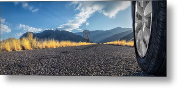 The Open Road 2114 Metal Print