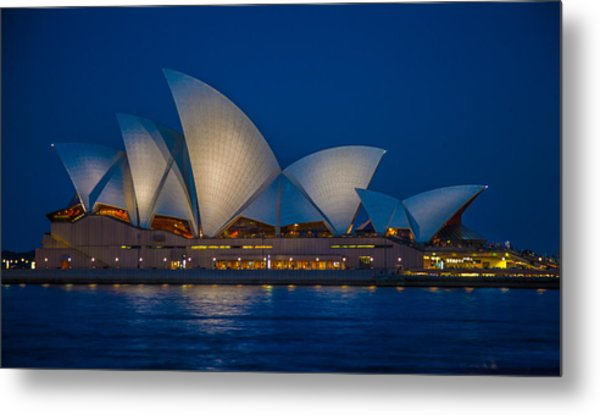 The Opera House Metal Print by Dasmin Niriella
