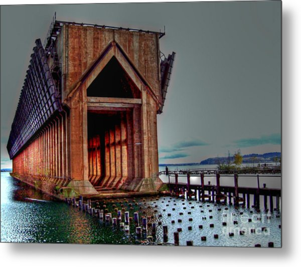 The Ore Is Gone . . . Metal Print