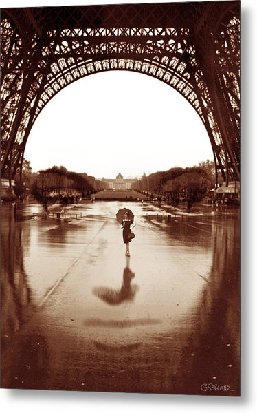 The Other Face Of Paris Metal Print