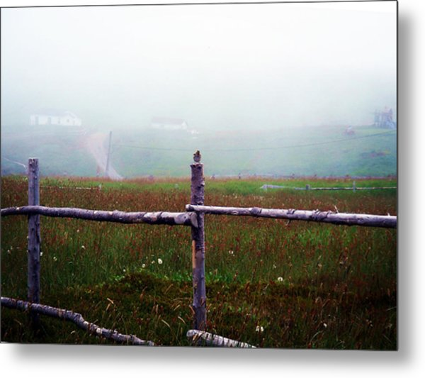 The Other Side Of The Field Metal Print