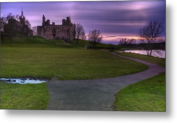 The Palace At Dusk Metal Print
