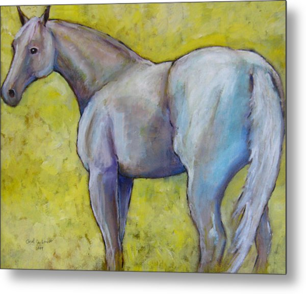 The Pale Horse Metal Print