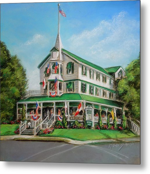 The Parker House Metal Print