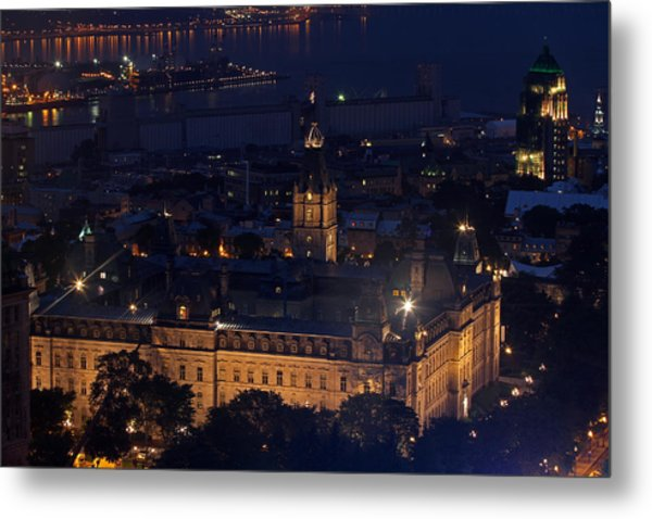 The Parliament Of Quebec Metal Print