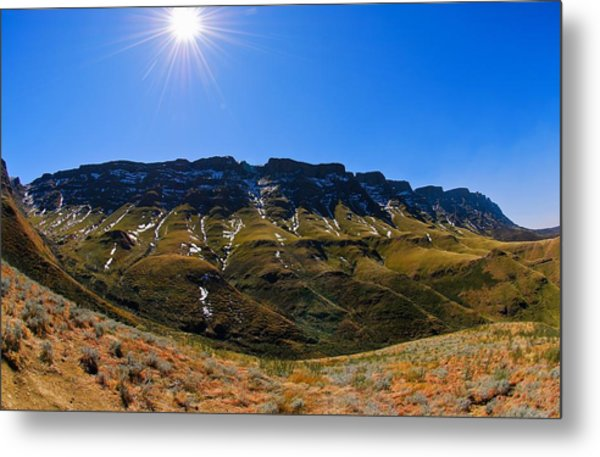 The Pass Metal Print by Aaron Bedell