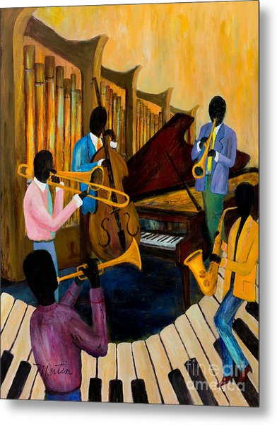 The Pastels Metal Print by Larry Martin