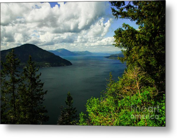 The Pend Oreille Metal Print